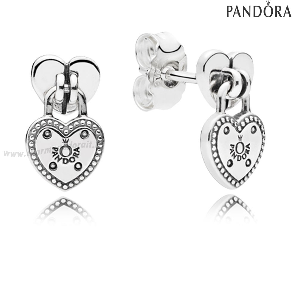 Miglior Prezzo Amore Locks Stud Earrings