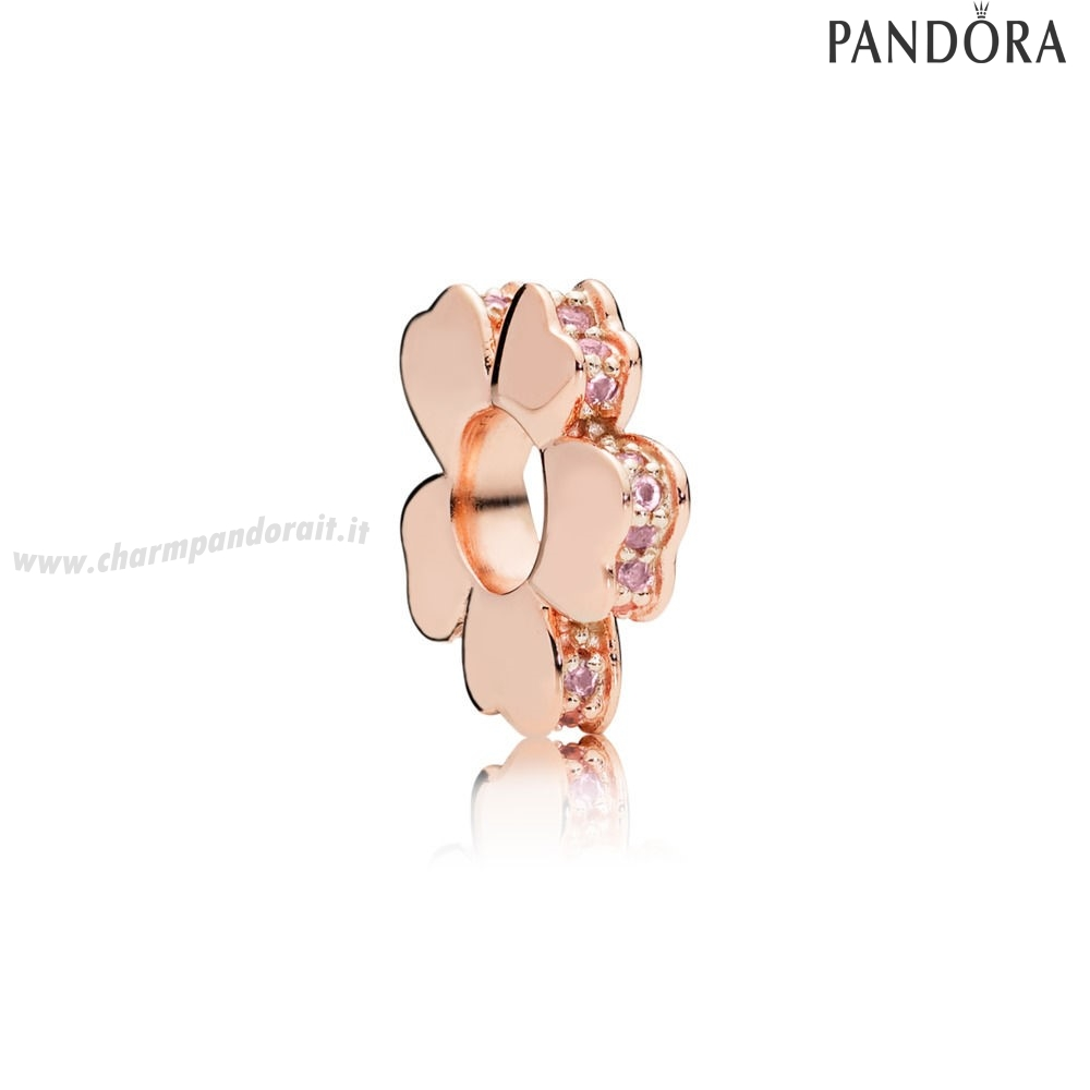 Miglior Prezzo Pandora Rose Wildflower Prato Spacer Fascino